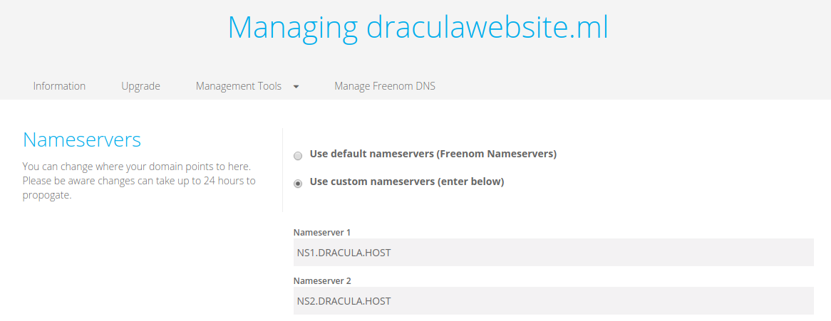 managing_draculawebsite.ml