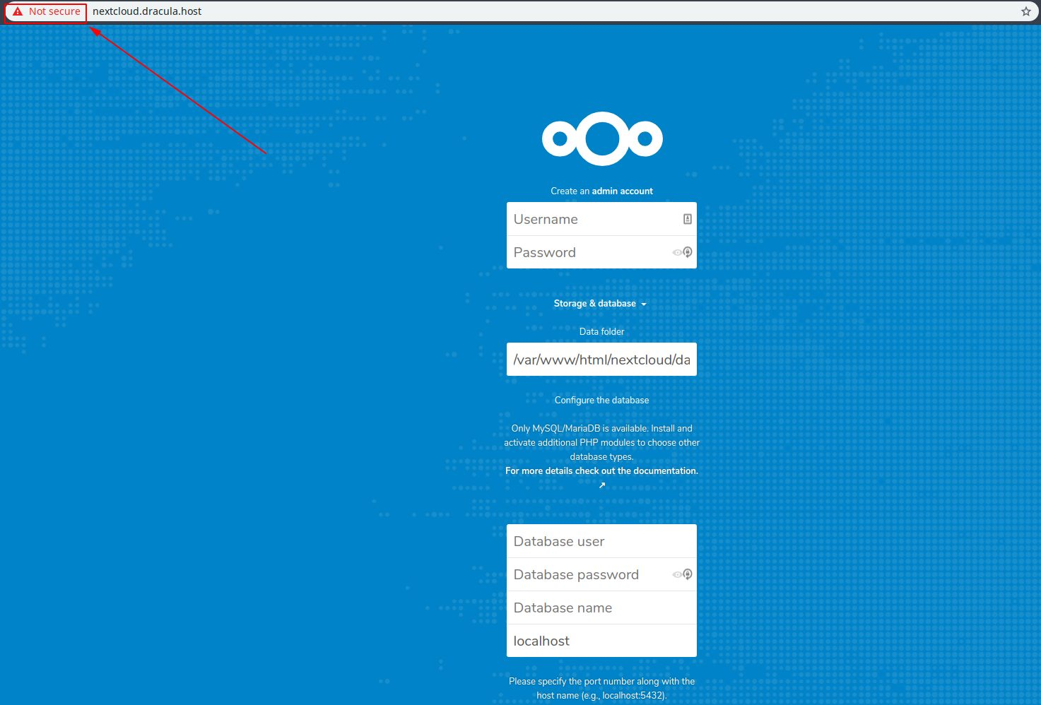 nextcloud_not_secured