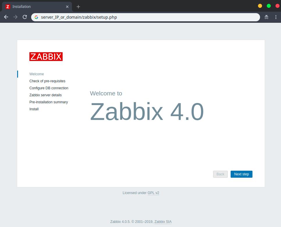 zabbix_install_wizard_1