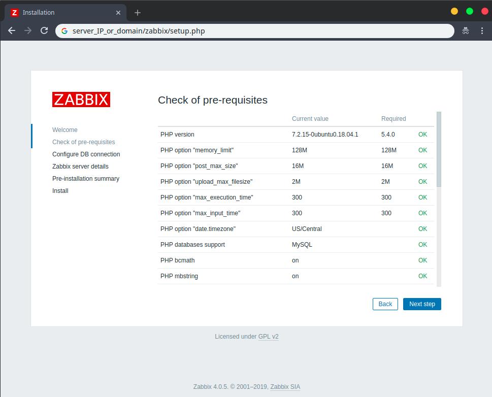 zabbix_install_wizard_2