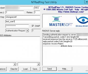 Test RADIUS with NTRadPing | Dracula Servers Tutorials
